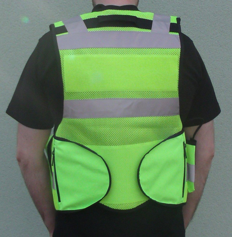 dresseurs de chien repr/ésentants de l/'ordre Gilet tactique haute visibilit/é pour officiers de s/écurit/é