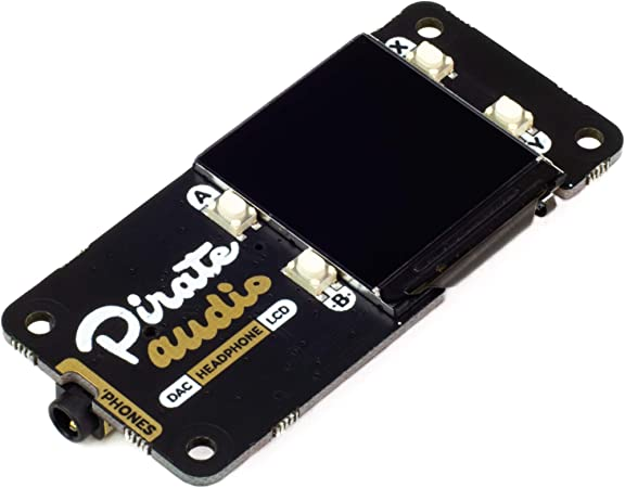 Pirate Audio: Amplificador de Auriculares para Raspberry Pi ...