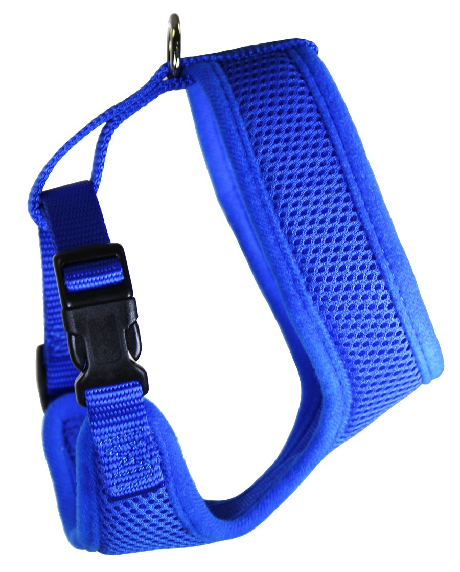 OmniPet BreezyMesh Dog Harness, X-Large, bluee