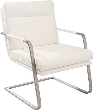 AcierCuisine Pieds Blanc Design Pu En S Mango Fauteuil ZuiPXkO