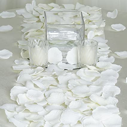 Amazon jassins 4000 silk rose artificial petals supplies jassins 4000 silk rose artificial petals supplies wedding decorations ivory junglespirit Choice Image
