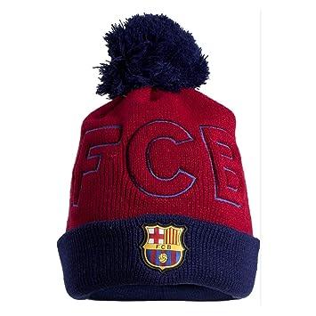 GORRO OFICIAL FC BARCELONA FCB ADULTO BORLA LOGO  Amazon.es ... 7650914f910
