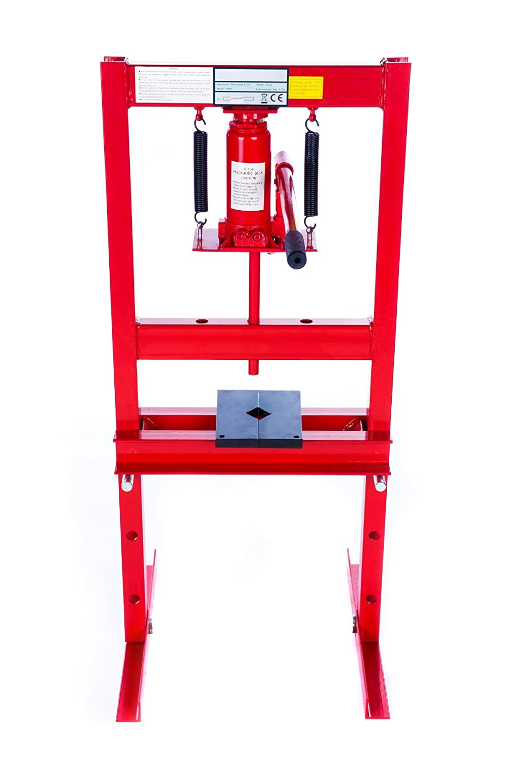 6 Ton Heavy Duty Hydraulic Workshop Garage Shop Standing Press Trad4u