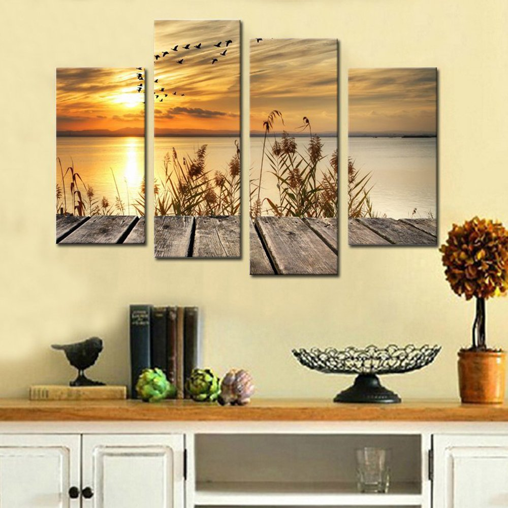 Contemporary Wall Art Rustic Gift - The Wall Art Decorations ...