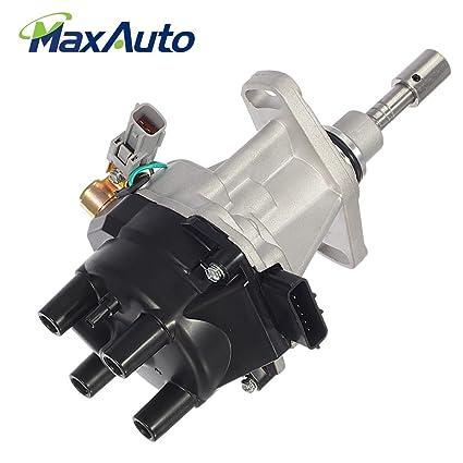 MaxAuto Ignition Distributor L4 for 96-97 Nissan Pickup Truck D21 Hardbody  2 4L
