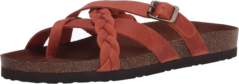 WHITE MOUNTAIN Womens Harrington Flat Sandal