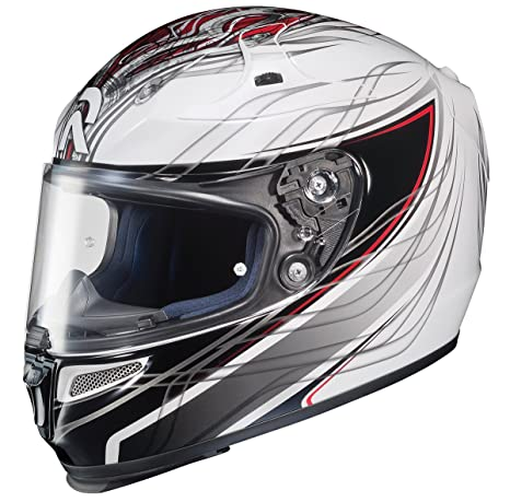 Amazon.com: Hjc Rpha-10 Halcyon Full-Face Casco de la Calle ...