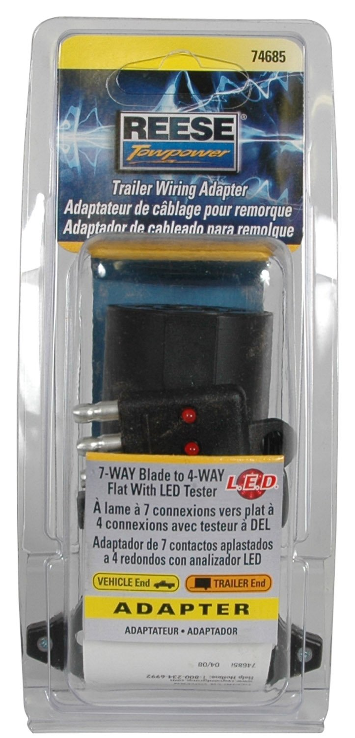 Proline Power 7 Way Plug Inline Trailer Wiring Harness Cord Camper Light Circuit Tester The Truck
