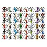 Kuchendekorationen Lego Ninjago 48 Stück (#2)