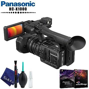Amazon com : Panasonic HC-X1000 4K DCI/Ultra HD/Full HD