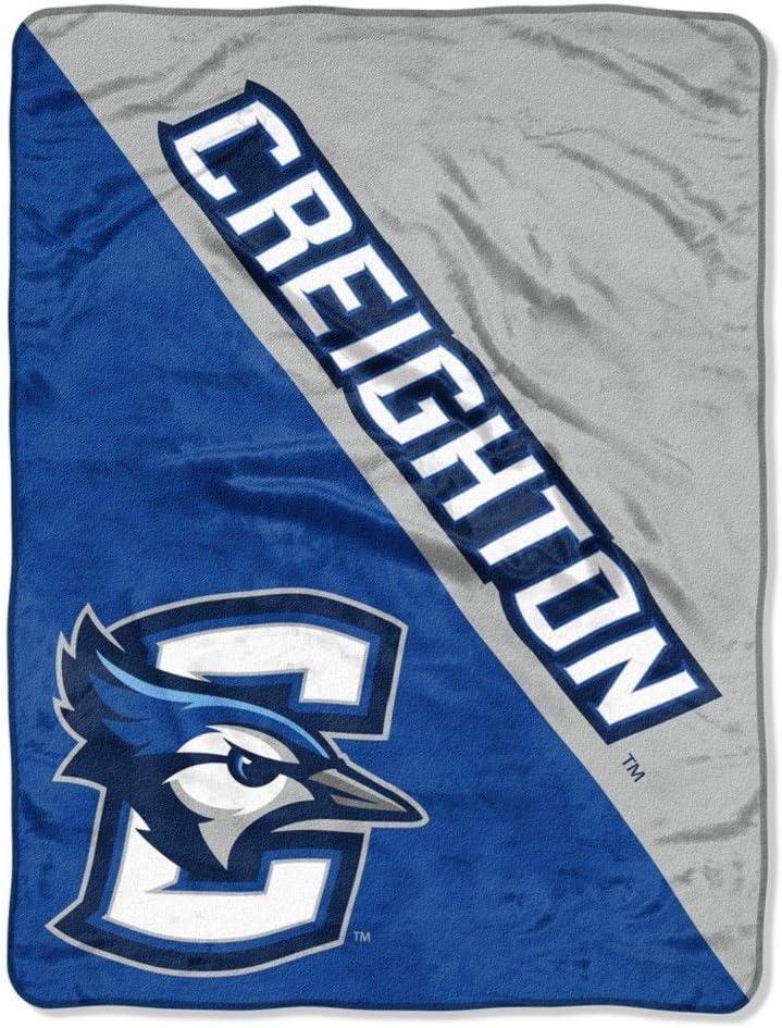 One Size Multicolor Northwest NCAA Creighton Micro Raschel Throw