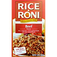 Rice-A-Roni BEEF Flavor 6.8oz (5 pack)