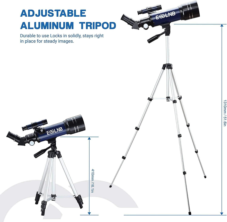 Esslnb Teleskop Kinder Einsteiger 70 Kamera
