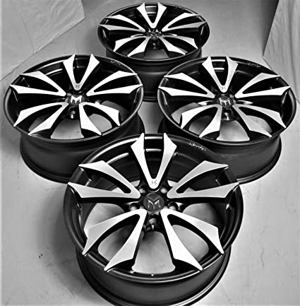 "18"" Inch Genuine M-Design Shogun Black Wheels Rims (Full Set of 4"