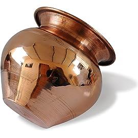 Pooja Accessory Handmade Copper Lota | Kalash | Pooja Utensil by Suyal & Devrani Products || Poojan Samagri ||