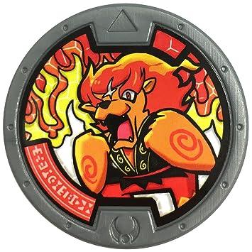 yo kai watch series 2 medal brave blazion merameraion 012