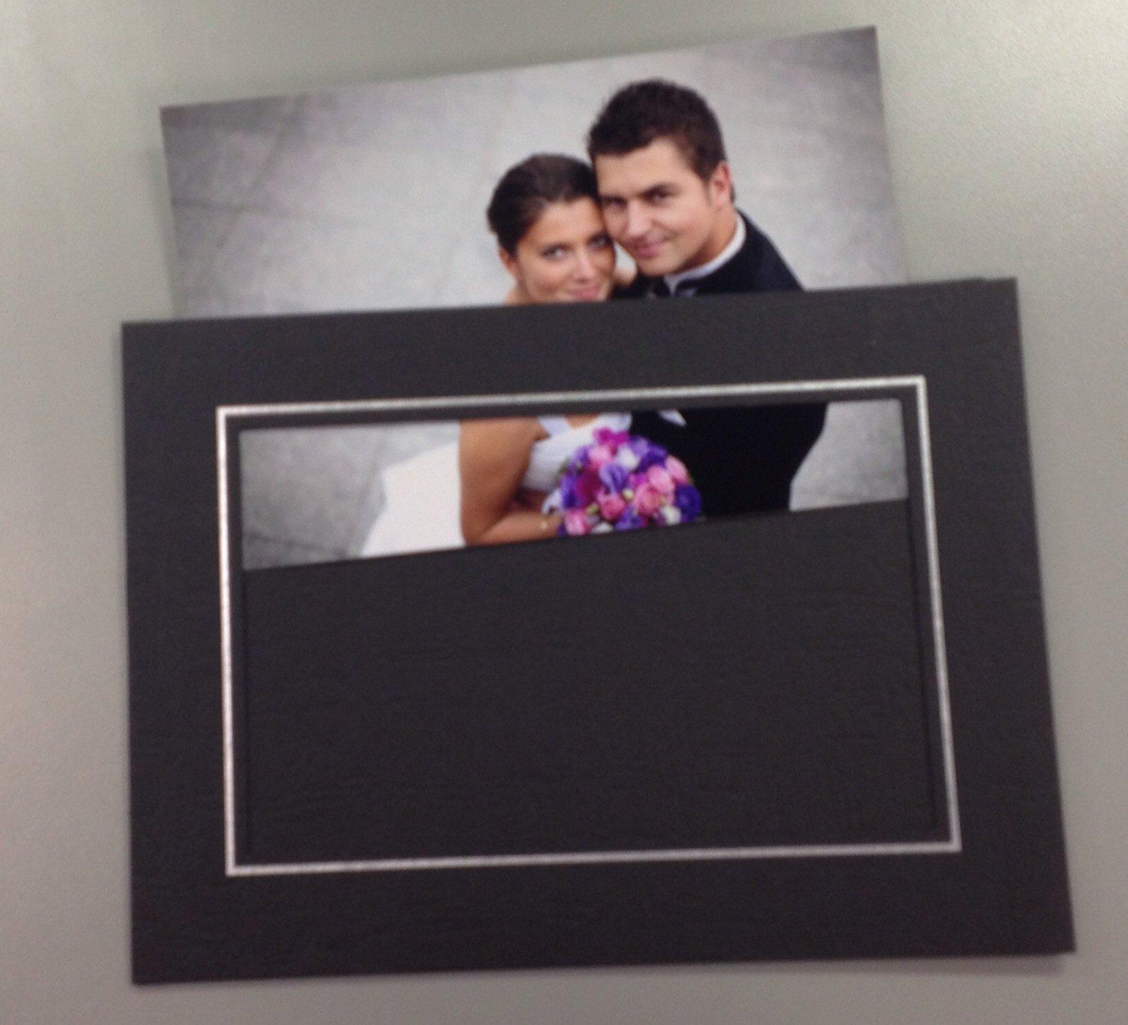 4x6 Black Elite Easel Cardboard Frame - 100 Pack - 3017-4x6 < Wall ...