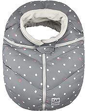 7 A.M. ENFANT Car Seat Cocoon, Grey Polka Dots