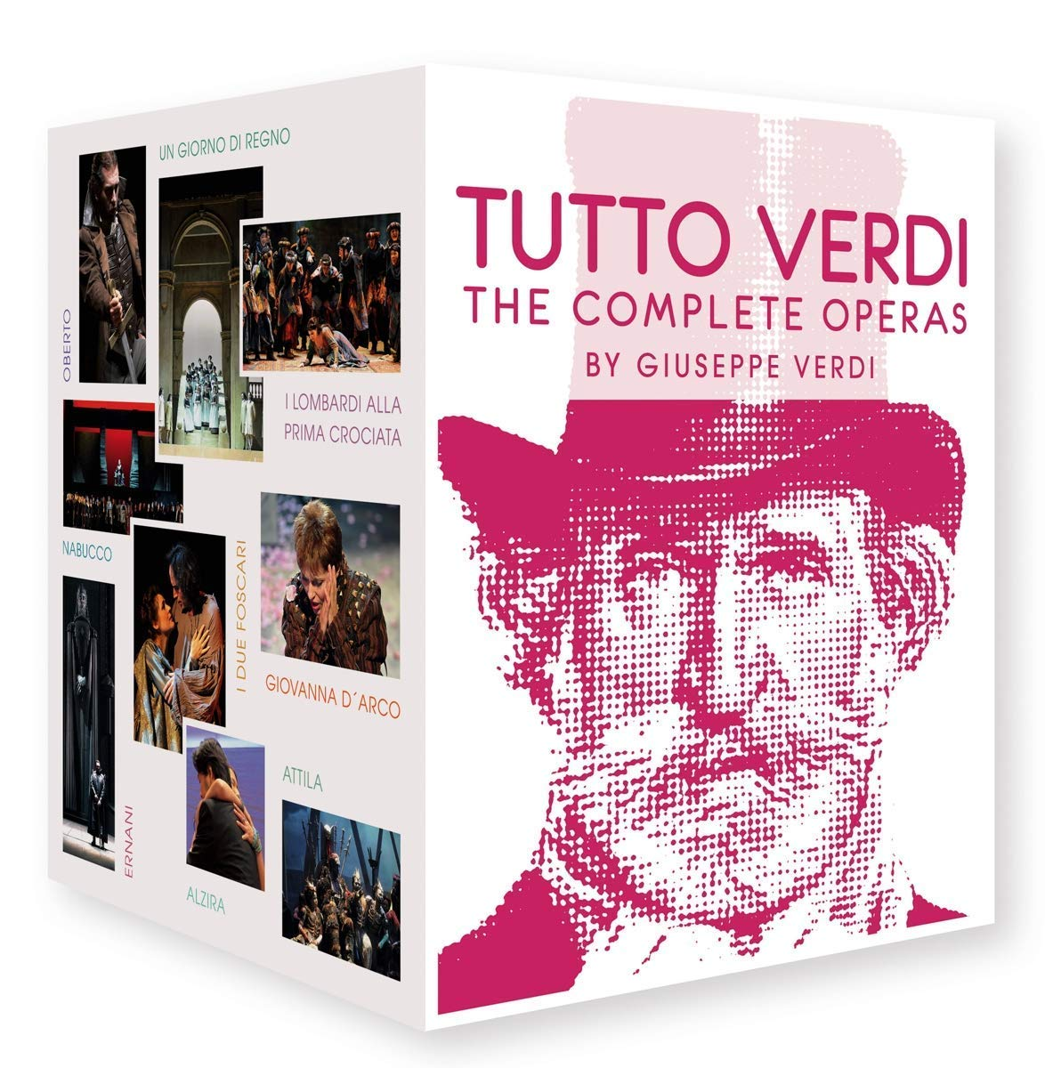 Verdi, G.: Tutto Verdi - The Complete Operas (27 Disc Box Set) (Blu-ray, HD) [Blu-ray]