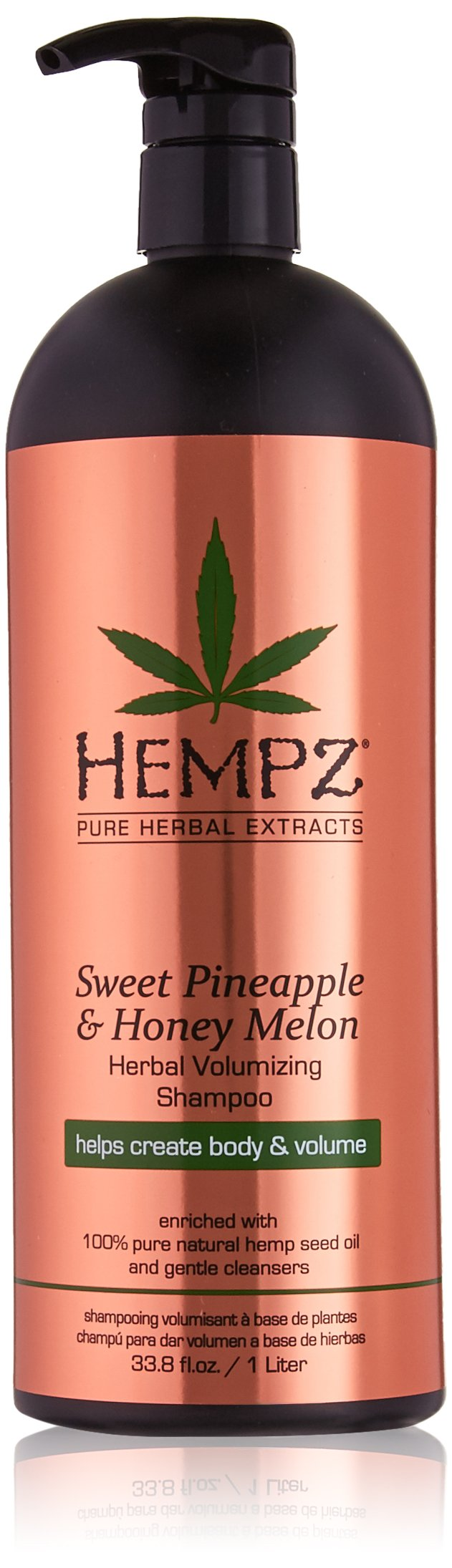 Hempz Sweet Pineapple and Honey Melon Herbal Volumizing Shampoo, 33 Ounce