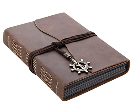 Amazon Rustic Leather Scrapbook Photo Album 6 X 8 Handmade