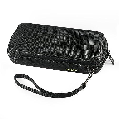 Für Anker PowerCore 20100mAh, EasyAcc Power Bank Case für 20000mAh 26000mAh, Poweradd Pilot X7 20000mAh/ 5GS 20000mAh, RAVPower 22000mAh 20000mAh, EC Technology 22400 mAh Externer Akku Schutzhülle, AUKEY Power Bank 20000mAh EVA Hart Reise Tasche, Schutztasche, Hardcase für USB Kable, SD Cards, Kopfhörer (Innere Größe: 176 x 85 x 40 mm), Schwarz