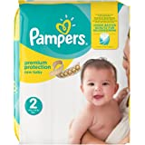 Pampers Premium Protection New Baby Größe 2 (Mini) 3-6 kg Monatsbox, 1er Pack, 1 x 240 Windeln