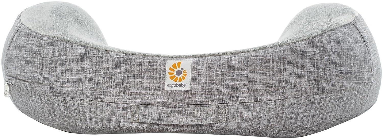 Ergobaby Original Natural Curve Nursing Pillow Cover, Grey EB-NCAGRY
