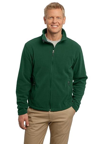 Port Authority Men s Soft Fleece Full Zip Jacket at Amazon Men s Clothing  store  Fleece Outerwear Jackets aa5a37c6c