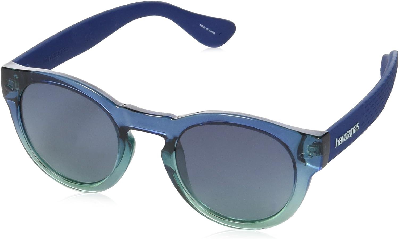 Havaianas Trancoso Gafas de sol, Multicolor (Dkgrnblue), 49 Unisex Adulto
