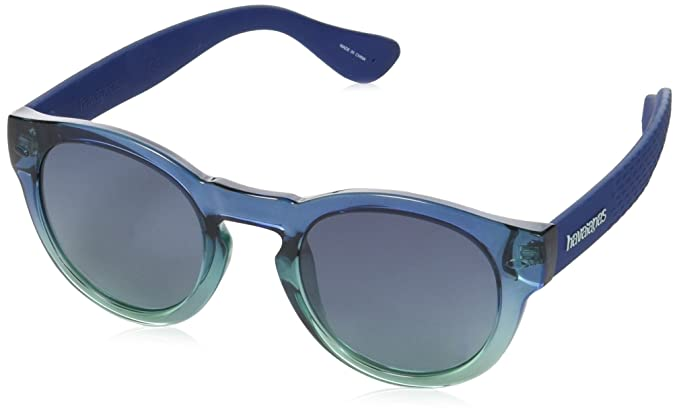 Havaianas Trancoso Gafas de Sol, Multicolor (Dkgrnblue), 49 ...
