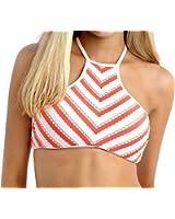 Bikini-Top Bustier Seafolly Coast To Coast Orange