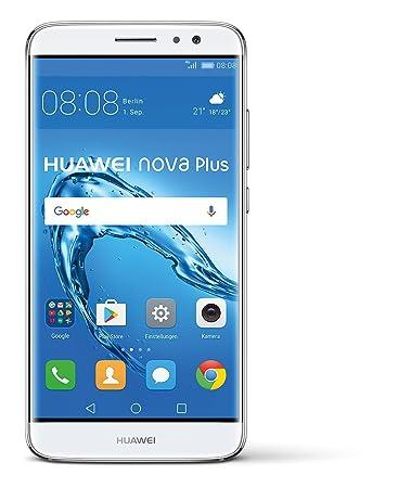 huawei nova plus. 32 gb huawei nova plus smartphone, dual sim, silver: amazon.co.uk: electronics