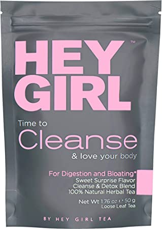 Detox Tea - Cleanse Herbal Hey Girl Tea