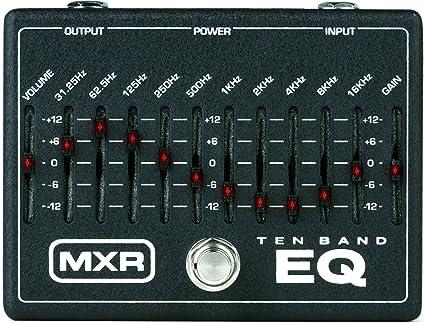 amazon com effector mxr 10 band graphic eq m 108 (japan import