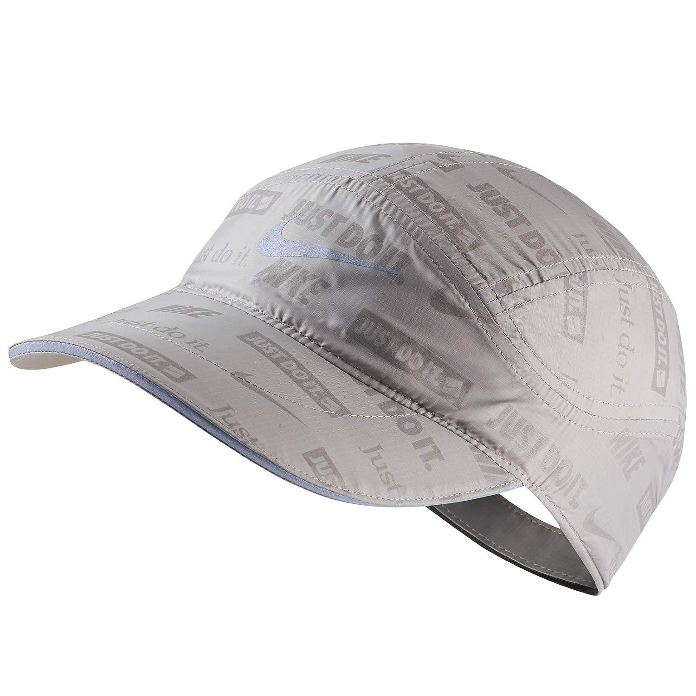 reputable site cb55e 00ca0 Amazon.com  Nike Tailwind Ghost Flash Running Cap (Atmosphere Grey)   Clothing