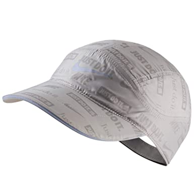 ebb1d5a1 Amazon.com: Nike Tailwind Ghost Flash Running Cap (Atmosphere Grey ...