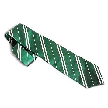 vente chaude authentique qualité incroyable valeur formidable Harry Potter - Cravate officielle Serpentard - Vert/Argent ...