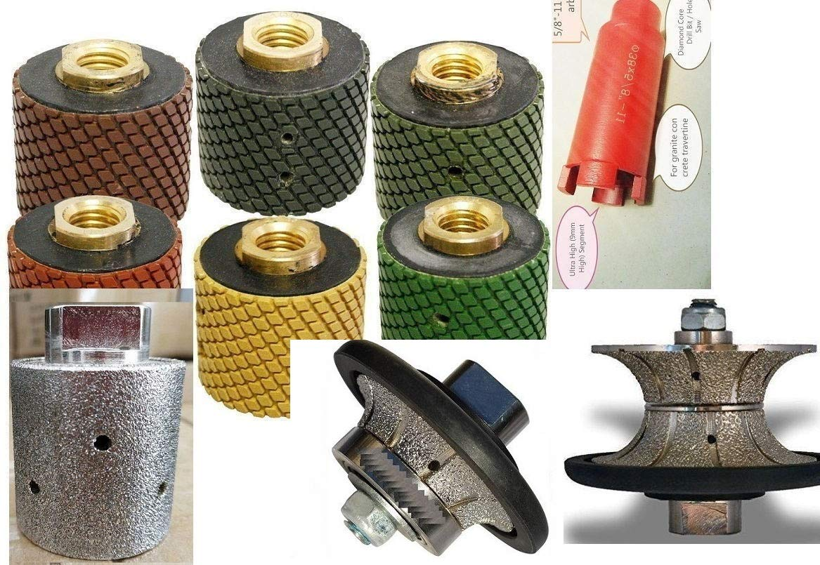 """3//8/"""" Roundover Bullnose Diamond Core Drill Bit Grinding Cup Granite concrete"""