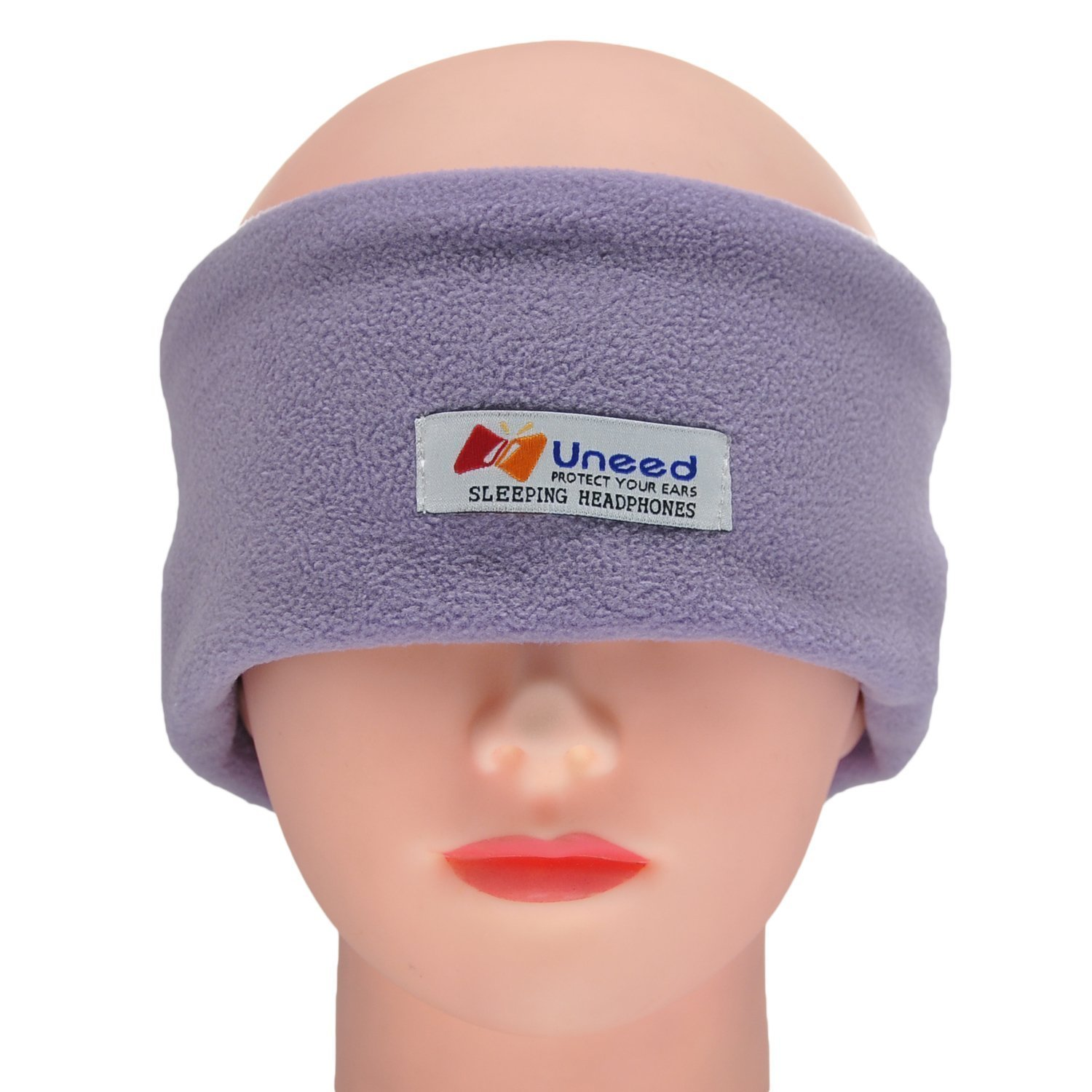 Morjava BK-015 Sleep Headphones - Ultra Thin - Sleep Mask- Most Comfortable Headphones for Sleeping - Perfect for Air Travel, Sports, Relaxation, Meditation and Relief from Insomnia -Purple
