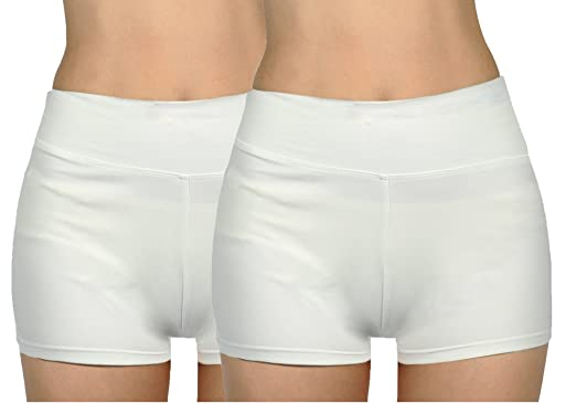 Munvot Femme Short sans Couture Shorty Fille Elastique Confortable ... 72435b37fb6