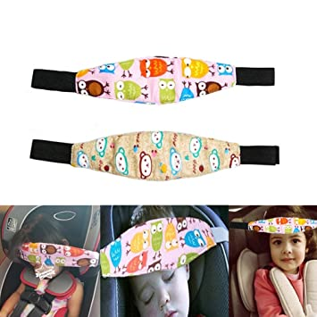 Car Seat Head Support Band Safety Pram Nap Holder With Adjustable Playpens Sleepy Positioner For Infants