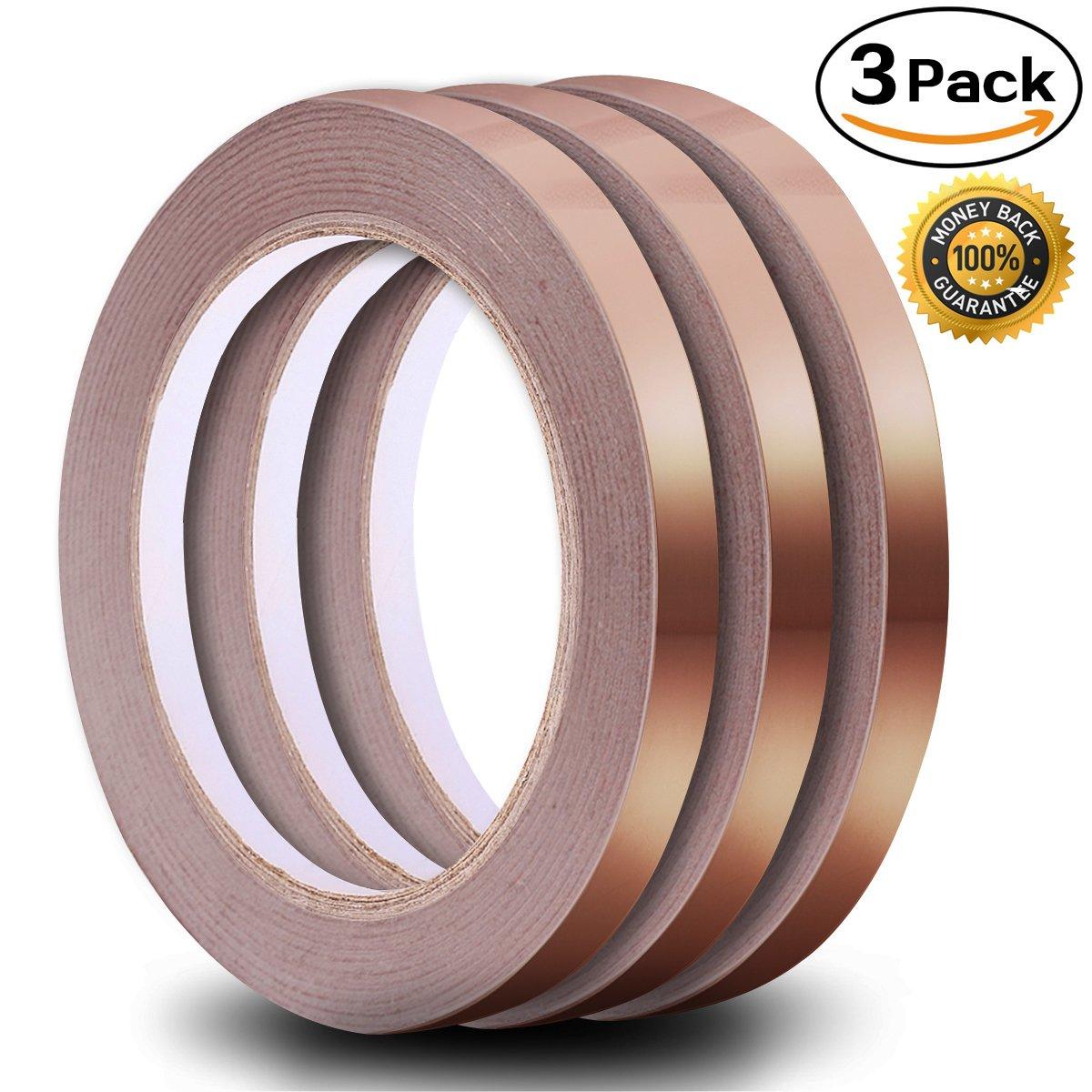 Copper Foil Tape Pack Of  Inch 21 8yard Each 65 4