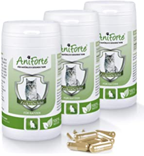 AniForte garrapatas Cartel Natural garrapatas – 180 Cápsulas Pack de Ahorro 4 – Producto Natural para