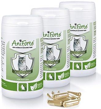 AniForte garrapatas Cartel Natural garrapatas - 180 Cápsulas ...