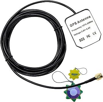 HQRP antena externa SMA GPS para Falcom Antena de GPS activa ...