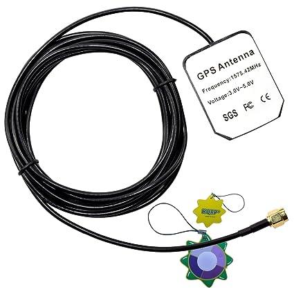 HQRP antena externa SMA GPS para Falcom Antena de GPS activa FAL-ANT-3