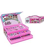LOL Surprise Kids 52 Pieces Art Colouring Case Set Toy