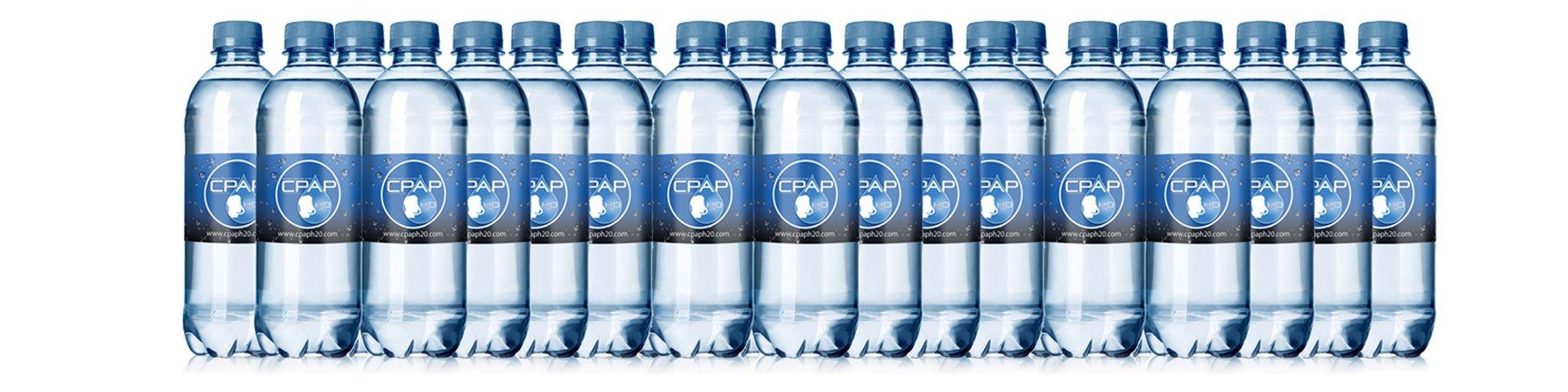 16.9 oz CPAP H20 Premium Distilled Water (24-Bottle Pack) 48 Days Supply …