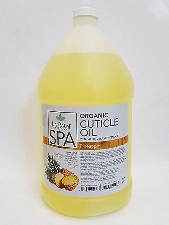Amazon.com: La Palm Spa - Aceite de cutículas orgánico, piña ...